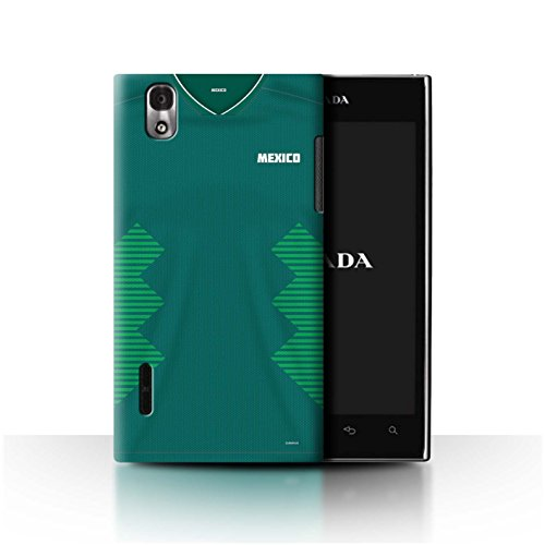 Stuff4® Phone Case/Cover/Skin/LGFL-CC/World Cup 2018 Football Shirt Collection LG Prada 3.0/K2/P940 Mexico/Mexicaans