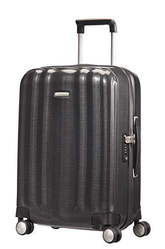 Samsonite Lite-Cube - Spinner S (Width: 23 cm) Hand Luggage, 55 cm, 43.5 Litre, Grey (Graphite)
