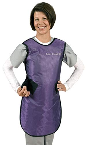Flexible Safety and trust Back X-Ray Apron - Loop Limited time trial price Hook Closure Lightweight Lea