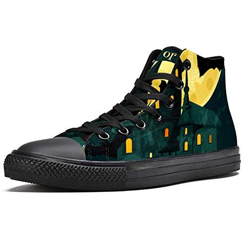 LORIES - Zapatillas de deporte para hombre, diseño de calabazas regionales, (multicolor), 40 EU