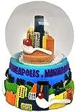 City of Minnesota Skyline Large Souvenir Collectible Snowglobe