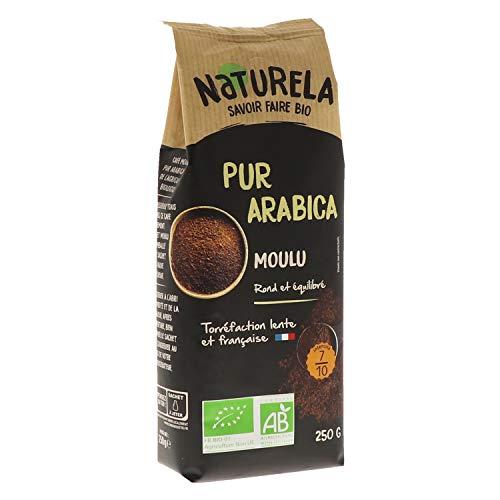Naturela Café Moulu Bio Pur Arabica - 250 g