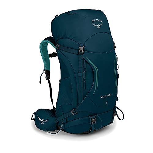 Osprey Kyte 46 Trekkingrucksack für Frauen - Icelake Green (WS/WM)