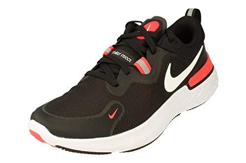 Nike React Miler Uomo Running Trainers CW1777 Sneakers Scarpe (UK 7 US 8 EU 41, Black White Laser Crimson 001)