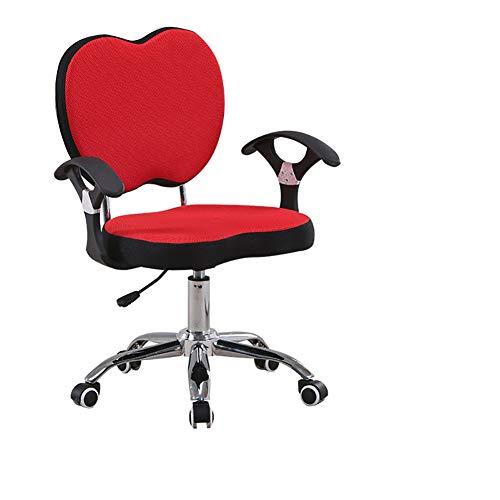 Kinderarbeid Stoel, Can Student Bureau Schriftelijk Computer Zetel Slaapkamers Werk Chair Draaistoel Kleine Huis Lift,Red