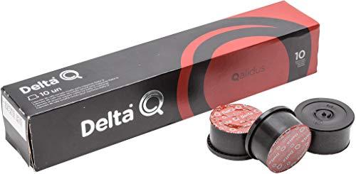 Delta Q DeltaQ Café Tostado Molido 240 (24x10) Cápsulas Qalidus 24x10 = 240 X 5.5 Grs.