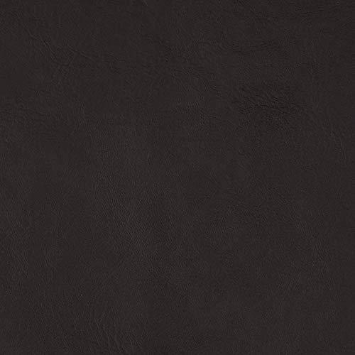 Plastex Fabrics Flannel-Backed Faux Leather Majik Dark Brown