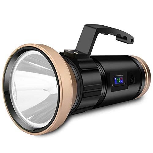 WMKEDB Everyday Flashlights, Lanterne de la torche LED Super Bright étanche extérieur poche poche Spotlight Projecteur LED portable, Nuit bleu violet jaune lumière blanche Camping super lumineux multi