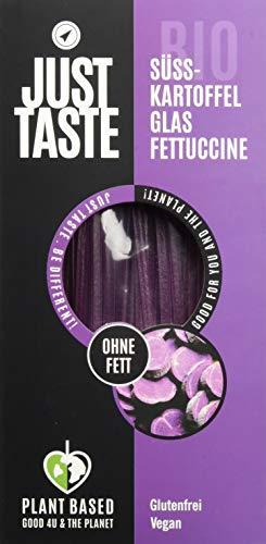 Just Taste Bio Süßkartoffel Glas Fettuccine, 6er Pack (6 x 250 g), 3086