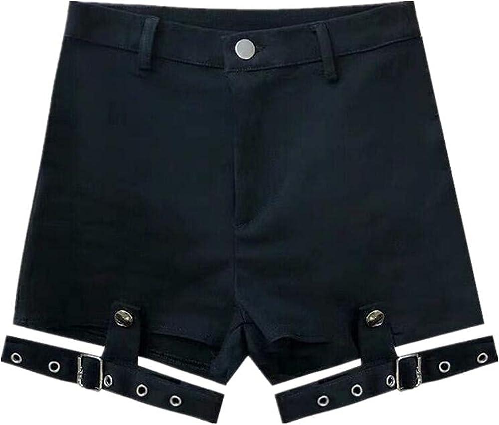 NP Shorts Sexy Short Jeans Ladies Casual Denim Booty Shorts Cutout Bandage