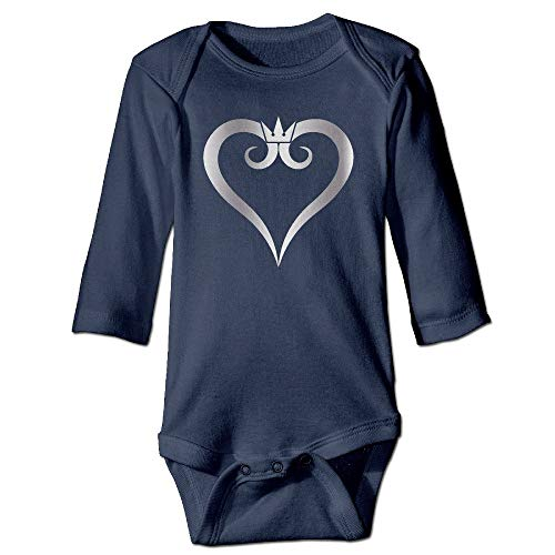 Kingdom Hearts Platinum Style Navy Baby Long Jumpsuit 2T