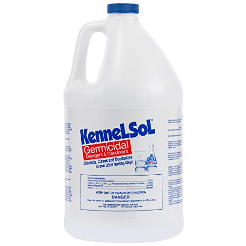 KennelSol Dog Crate Cleaner and Disinfectant | Cleaning Concentrate, Kills...