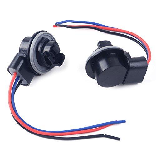 CITALL 2 Pcs 3157 3057 3155 voiture ampoule socket frein clignotant prise harnais connecteur prise adaptateur