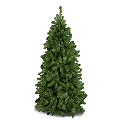 Green Canadian Spruce High Quality Artificial Christmas Tree 6.5ft Tall (195cm)