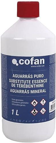 COFAN 15801043–Essence de térébenthine Puro (1l)