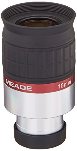 Meade Instruments 07734 Series 5000 – Ocular HD-60 de 1,25 Pulgadas, 18 milímetros, Color Negro