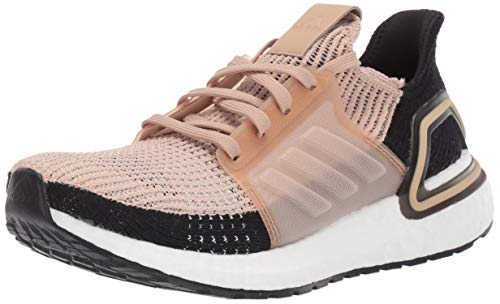 adidas Women's Ultraboost 19 w Running Shoe, St Pale Nude/Linen/Core Black, 7.5 UK