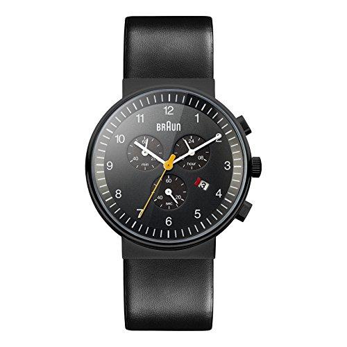 Braun Herren Armbanduhr XL BN0035BKBKG