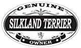 US Decal, Inc. Silkland Terrier Oval Magnet