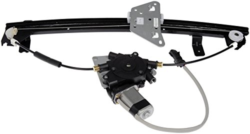 Dorman 741-599 Rear Passenger Side Power Window Motor and Regulator Assembly for Select Dodge Models