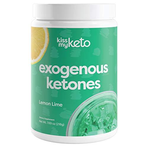 Kiss My Keto Base Exogenous Ketones Supplement BHB Keto Powder — Mixed Berry Keto Drink Mix | Exogenous Ketone Base BHB Salts, Keto Supplement for Ketogenic Diets, Support Ketosis (15 Servings)