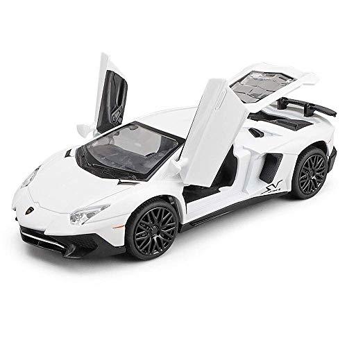 Diecast modelo de coche deportivo - Tire de aleación de