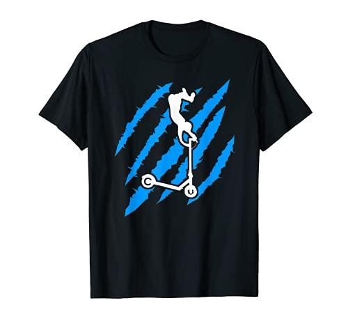 Patinete Stunt Scooter Scooter Scooter Scooter Halfpipe regalo Camiseta
