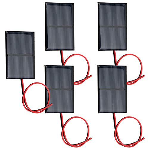 Panneau de Batterie Solaire de l'artisanat spécial 2V 300MA, kit de Panneau Solaire, Pratique pour Les lumières solaires de pelouse pour la Recherche de Panneaux solaires industriels à