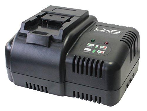 HYUNDAI HY-HYCH18-25 Cargador de Baterías, 18 V, negro y azul, pequeño