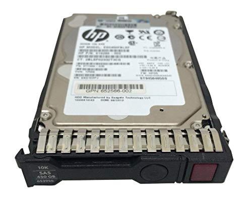 HP 450B 652572-B21 653956-001 SAS-Festplatte, 6 GB/s 2,5 Zoll (6,35 cm), SFF, G8 GEN8