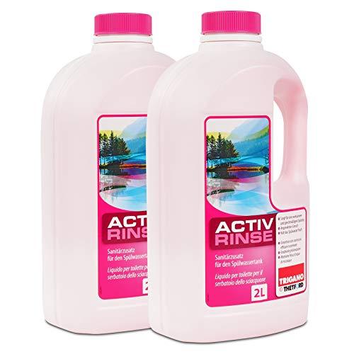 Thetford Activ Rinse Toiletten Zusatz für den Spülbehälter 4 Ltr