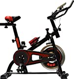 Evolve - Exercise Bike 10kg Flywheel with BLUETOOTH and FITNESS SMARTPHONE APPLICATION Home Gym Bicycle Cycling Cardio Training Indoor Heart Rate Monitor