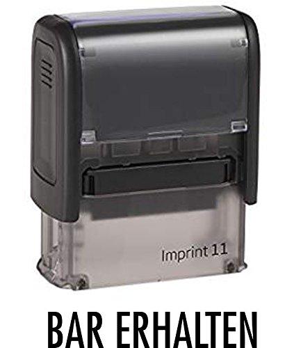 Lagerstempel/Selbstfärber - BAR ERHALTEN - von Kaufhaus2010
