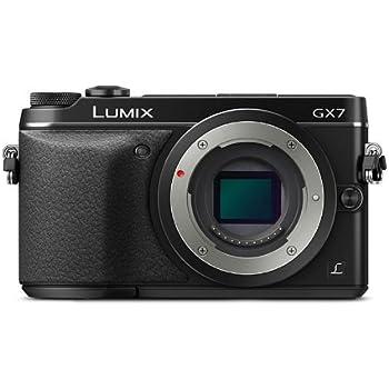 パナソニック ミラーレス一眼カメラ ルミックス GX7 ボディ ブラック DMC-GX7-K