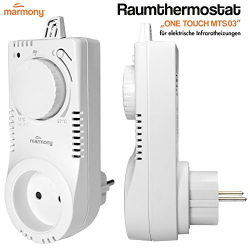 Marmony Thermostat, kabellos, OneTouch MTS03