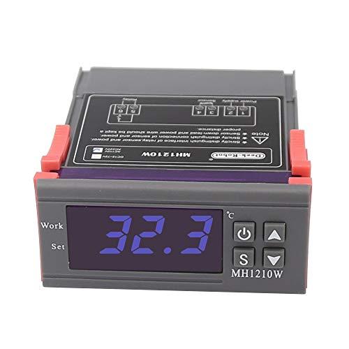 AC90-250V Digital Temperatura Controlador Termostato Celsius Calibración MH1210W