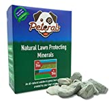 Peterals 200 Grams - Natural Mineral Rocks to Prevent Grass Burn Yellow Patches from Dog Urine