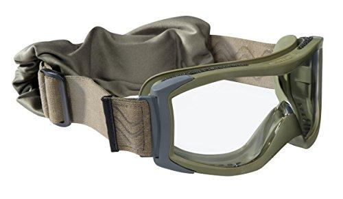 Bolle Tactical Men's X1KSTDI ballistische Brille X1000 Green, Grüne, Universal