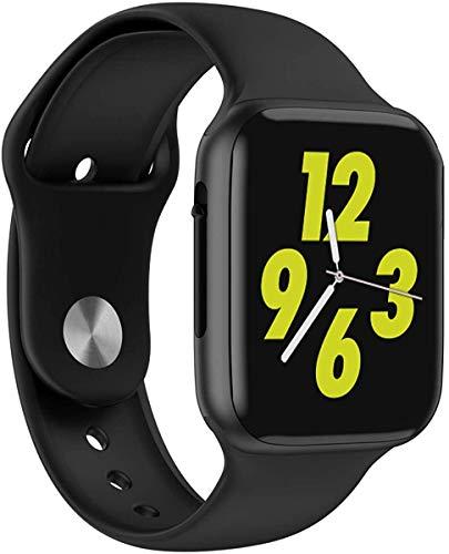 Burbe W34 Smart Watch Iwo 8 Plus ECG/PPG Smartwatch Herzfrequenzmonitor Frauen/Männer Smart Watch Armband Pk B57 Iwo9 Band Fitness Tracker Fitness Tracker Schlaf-Monitor Pedometer für Männe.