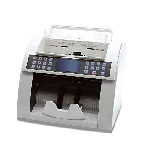 Ribao BC-2000V/UV/MG Heavy Duty High Speed Currency Counter UV/MG Counterfeit Money Counter, Two-Year After Service