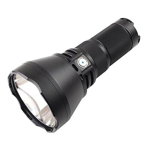 ThruNite TN42 high Powerful Flashlight 2000 Lumens, Long Throw Up to 1550 Meters Waterproof Torch, CREE XHP35 LED Handheld Light, Powered by 4 x 18650 Batteries(not Included) - CW