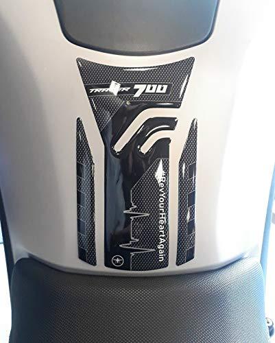 Adhesivo de Tanque de Motocicleta de Resina de Gel 3D Compatible con Yamaha Tracer 700 de 2020