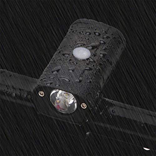 WAWRR - Faro de Bicicleta con USB, Recargable, Linterna para