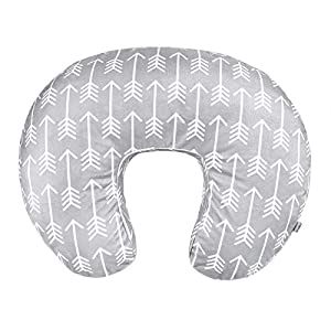 Vextronic Minky Nursing Pillow Cover 2 Pack Nursing Pillow Slipcovers for Breastfeeding Moms, Ultra-Soft Fit Standard Infant Nursing Pillows & Positioners for Baby Boy Girl
