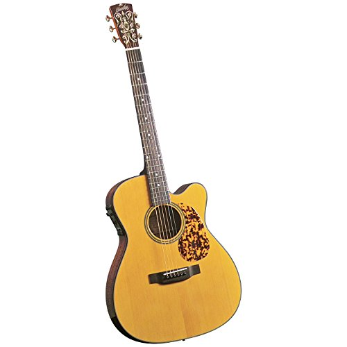 Blueridge Guitars Electro 6 String Acoustic-Electric Guitar, Right Handed, 000 Sitka (BR-143CE)