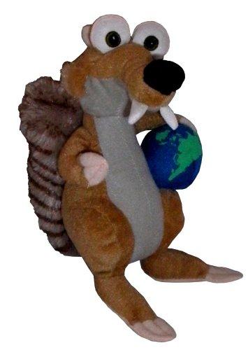Disney Ice Age Iceage 3 Scrat mit Weltkugel Plüsch Plüschfigur Plüschtier ca. 20 cm*NEU*