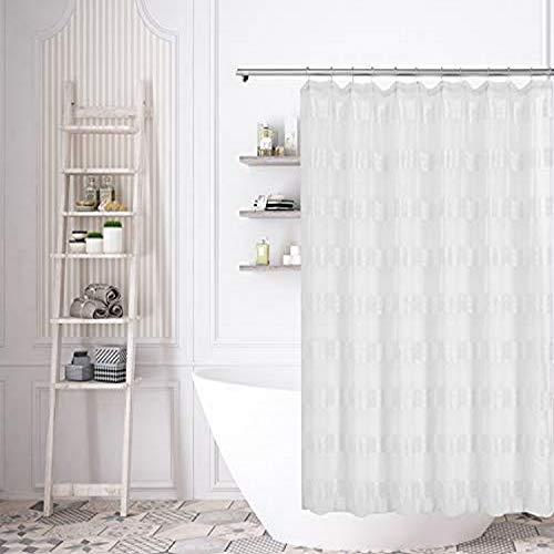 Home Maison Duschvorhang, 70 x 70 cm, Weiß