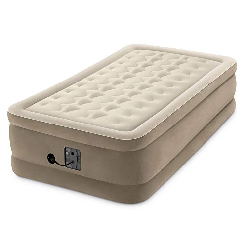 Intex - Dura Beam Plus Series Ultra Plush Airbed, Twin