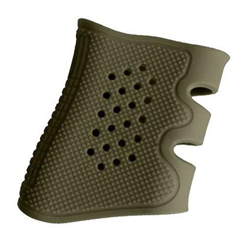 WEREWOLVES Taktische Universal Pistole Pistole Gummi Schützen Abdeckung Griff Handschuh Holster Anti Slip Passt Glock 17/19/20/21/22/23/31/32/37/38 (Armeegrün)