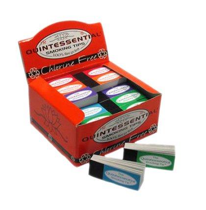 Quintessential riciclato cloro libero fumare filtro Cicche–50Packs–1Full box